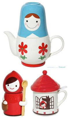 Lovely Tea Time Sets! Teapots and Teacups that will make you smile :)