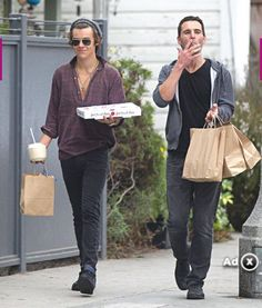 I want to go shopping with him...
