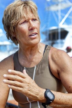 Diana Nyad - Legendary Distance Swimmer. She is an inspiration!