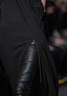 ann demeulemeester fall 2012 RTW. #Black #Fashion