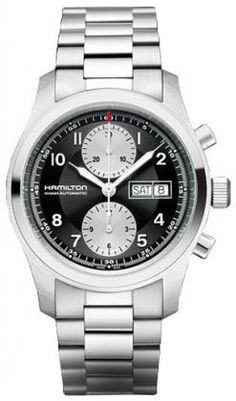 H71566133 - Authorized Hamilton watch dealer - Mens Hamilton Khaki field auto chrono, Hamilton watch, Hamilton watches