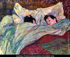 In Bed 2 - Henri De Toulouse-Lautrec - www.toulouse-lautrec-foundation.org