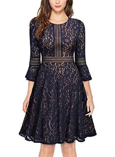 Looking for MissMay MissMay Women's Vintage Full Lace Contrast Flare Sleeve Big Swing A-Line Dress ? Check out our picks for the MissMay MissMay Women's Vintage Full Lace Contrast Flare Sleeve Big Swing A-Line Dress from the popular stores - all in one. Dress Plus Size, Plus Size Maxi Dresses, Short Sleeve Dresses, Skater Dresses, Long Dresses, Chiffon Dresses, Spring Dresses, Long Sleeve, Evening Dresses
