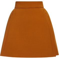 DELPOZO A-Line Mini Skirt ($1,400) ❤ liked on Polyvore