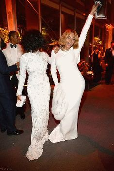 Beyonce & Solange At The Vanity Fair Oscar Party In Beverly Hills CA 22.02.2015