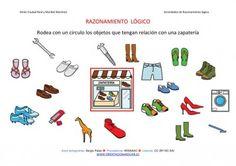 Orientación Andújar: RAZONAMIENTO  LÓGICO categorizar y agrupar