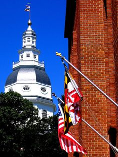 Maryland State House, Annapolis by macfanmd, via Flickr