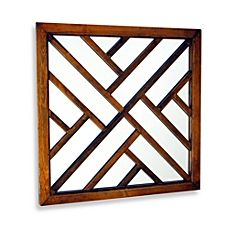 The Happy Mirror is a distressed brown mirror with different rectangles shapes to make a joyous pattern. It is an eye-pleasing mirror to focus on and will enhance any room. Wood Mirror, Round Wall Mirror, Wall Mounted Mirror, Wall Mirrors, Framed Wall, Gate Design, Door Design, Window Grill Design, Mirrors Wayfair