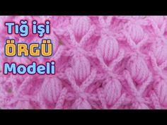 BÜYÜK KELEBEKLER bebek battaniyesi  Örgü Modeli - Şiş İle Örgü Modelleri - YouTube