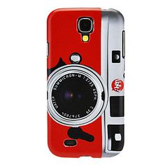 Professional Camera Pattern IMD Hard Case for Samsung Galaxy S4 I9500 – USD $ 2.99