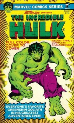 The Incredible Hulk #1 (1978) published by Pocket Books.