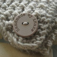 button for knits instead of labels