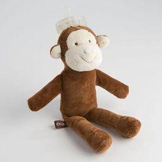 Ooie The Monkey 3 in 1 Πιπίλα και παιχνίδι