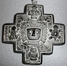Chakana, Inca Cross, represents 12 points of the year + cardinal points NSEW New Tattoos, Tribal Tattoos, Tatoos, Inka Tattoo, Cruces Tattoo, Peru Tattoo, Inca Art, Inca Empire, Symbols Of Strength
