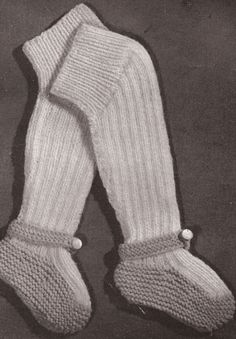 Baby Leggings   Vintage Knitting Pattern... Now i just need to learn how to knit....