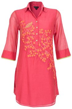 Cherry blossom tunic available only at Pernia's Pop-Up Shop.