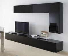 Meuble Tv Mural Design Lumineux Ornela Meuble Tv Pinterest