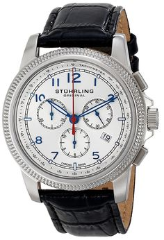 Stuhrling Original Men's 717.01 Octane Targa Courant Analog Display Swiss Quartz Black Watch -- Check out this great product. (This is an Amazon Affiliate link and I receive a commission for the sales)