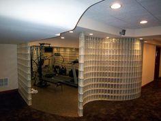 Glass Block Shower, Shower Systems, Glass Blocks, Divider, Chicago, Room, Furniture, Home Decor, Homemade Home Decor
