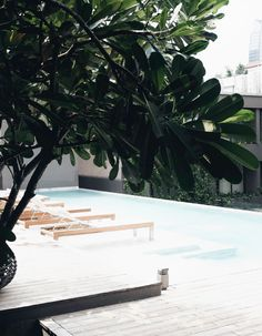 Ad Lib Hotel Bangkok, rooftop pool - Johanna P.