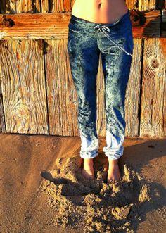 mood indigo bamboo velour pants by purushapeople on Etsy