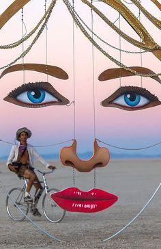 Burning Man Art installation #burningman #burning #man #art