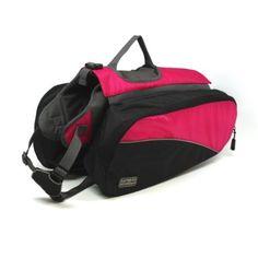 Amazon.com: Kyjen Outward Hound Backpack, Large, Pink: Pet Supplies $31.55
