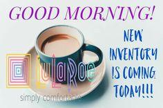 Good morning! New inventory today! #TrinityLuLaRoe