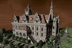 Renaissance Palace Minecraft World Save