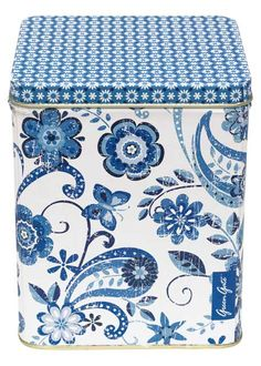 Ginger Blue Tins by Greengate