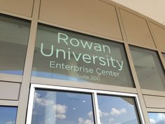 Rowan University's College of Graduate & Continuing Education's New Home!