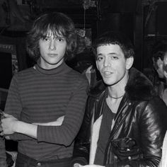 Richard Lloyd (Television) and Lou Reed solo; Photo by ©Michel Esteban.