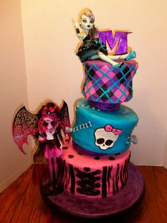 Furniture Monster High Decorations With A Stunning Design On A Birthday Cake Decorating With the Monster High Decorations