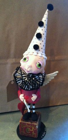 Like the ruffle at the neck. ART DOLL