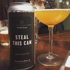 big citrus with a perfect bitter pop - Steal This Can by Lord Hobo Brewing @lordhobobrewing  #lordhobobrewing #stealthiscan #ipa #craftbeer