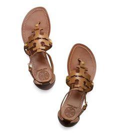 Tory Burch Phoebe Flat Thong Sandal : Women's Sandals | Tory Burch