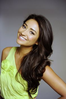 shiny healthy hair, Shay Mitchell