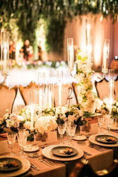 Featured Photographer Samuel Lippke Studios Wedding Centerpiece Idea Las Vegas Weddings Mod