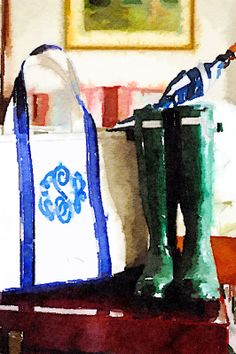 Let the Tide Pull Your Dreams Ashore - APP called Waterlogue turns photos into watercolors