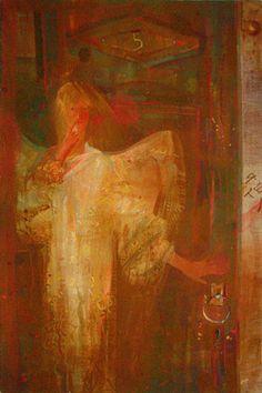 Saatchi Online Artist Yulia Luchkina; Painting, DOOR #art