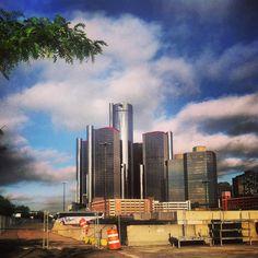 #Detroit #DetroitUsa #RenCen #DowntownDetroit