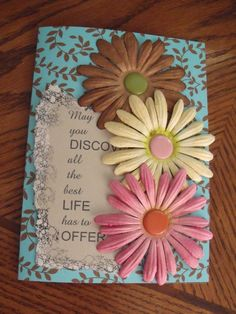 Handmade Retirement Greeting Card by Scrappin2some on Etsy