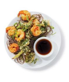 Shrimp and Broccoli Tempura | RealSimple.com