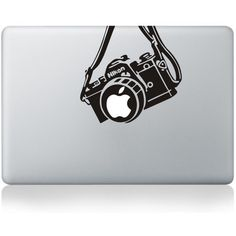 Mac Decal Mac Sticker Macbook Decals Macbook Stickers Vinyl Decal for... (31 BRL) ❤ liked on Polyvore featuring electronics
