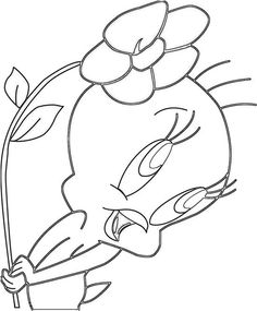 1000 Images About Coloring Looney Tunes On Pinterest