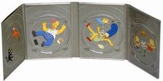 The Simpsons 2001 The Complete First Season 3 Disc Set Collector's Edition DVD