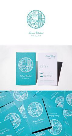 デザイン事務所 ココドル|大阪北摂の箕面を拠点に海外・日本全国で中国茶インストラクター・フラワーエッセンスセラピストの活動をされ、ガーデニングの造形も行っている方のロゴと名刺を制作。#デザイン #名刺 #ロゴ #ロゴマーク #イラスト #ブランディング #design #businesscard #logo #logomark #illustration #branding