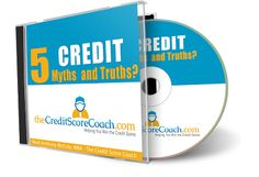 """Grab your free copy of """"5 #Credit Myths & Truths"""" to get started understanding and repairing your credit scores by entering just a little bit of information at http://thecreditscorecoach.com!"""