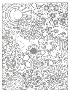 Hippie dover designs for coloring - Pesquisa do Google