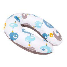 Coussin d'allaitement doomoo bird blue Babymoov